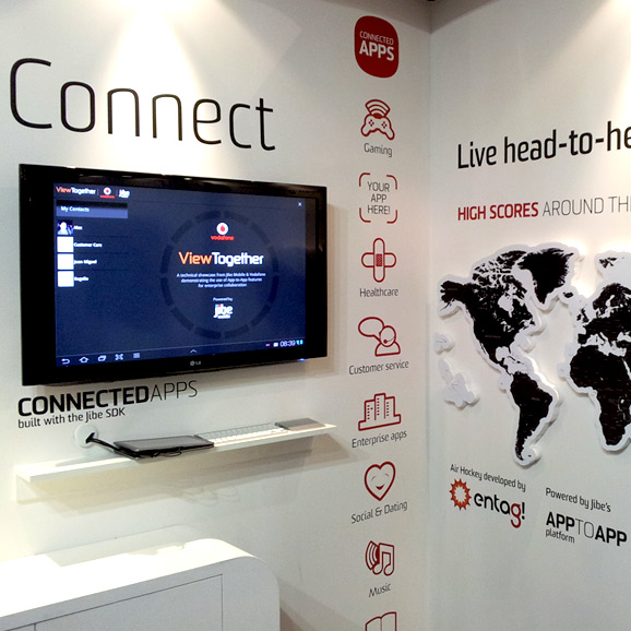 Exhibition stand for MWC