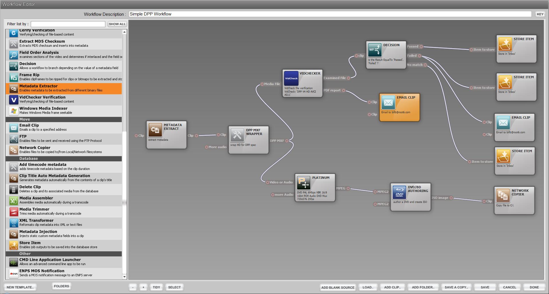 Content Agent Workflow designer UI