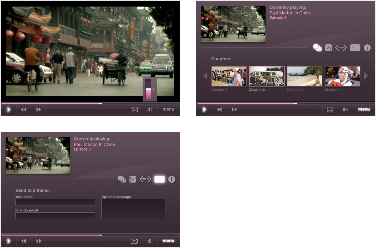 Channel 5 video player