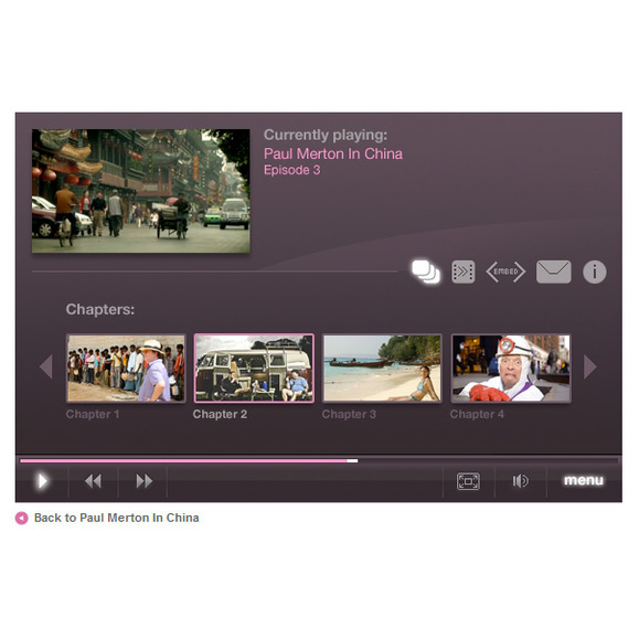 Demand Five web video player