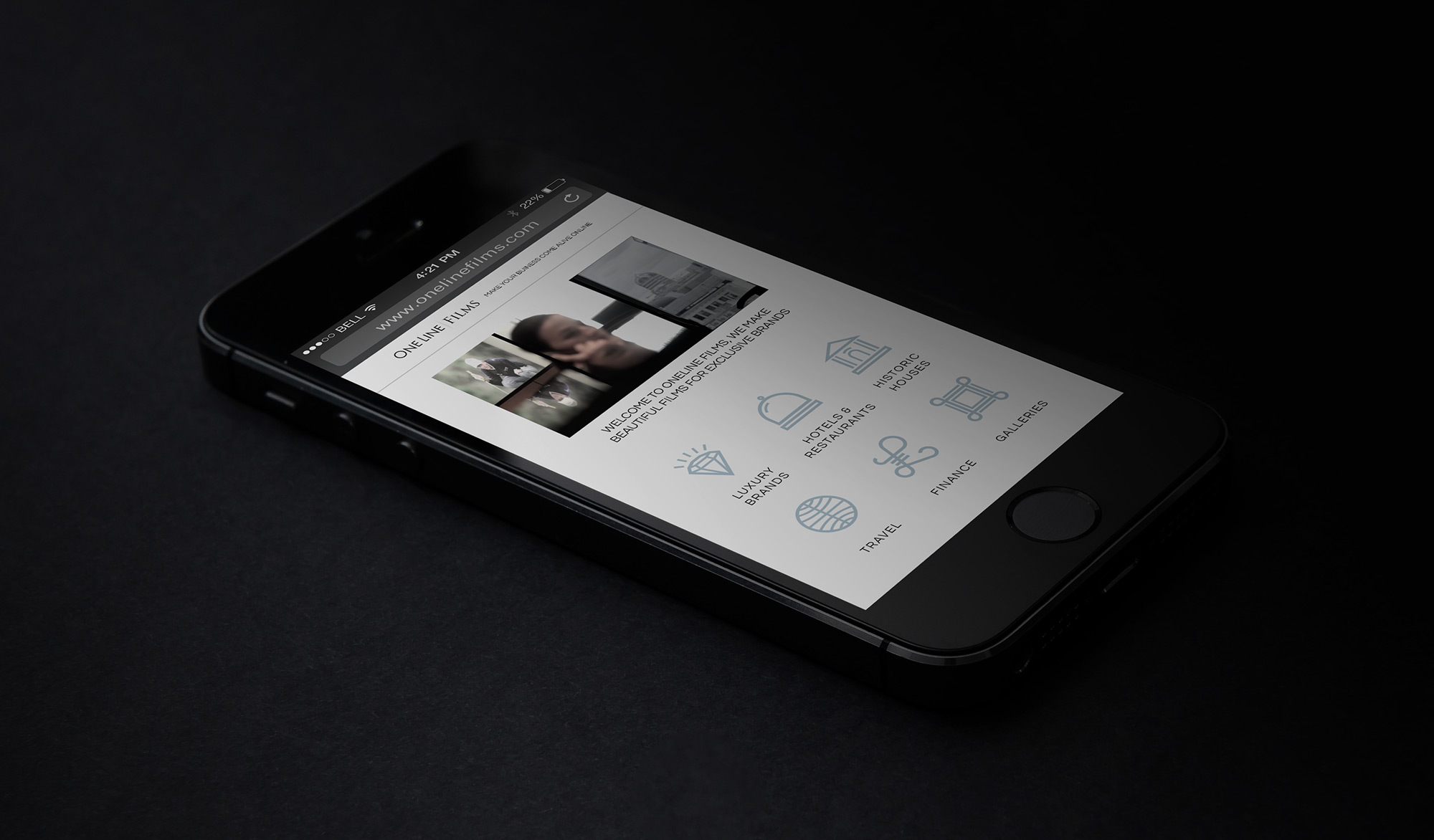 OneLine-web-iPhone