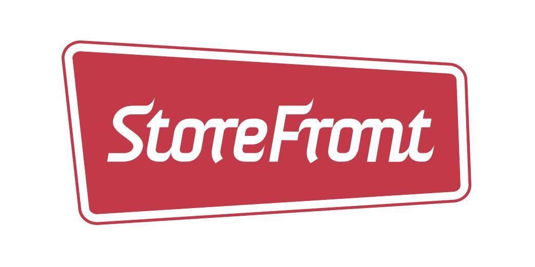 Storefront logo design