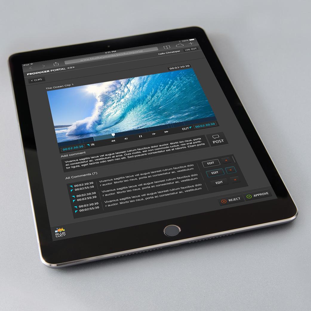 Producer Portal UI