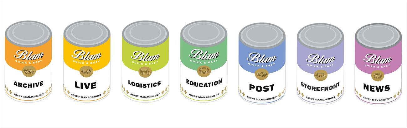 BLAM Cans artwork