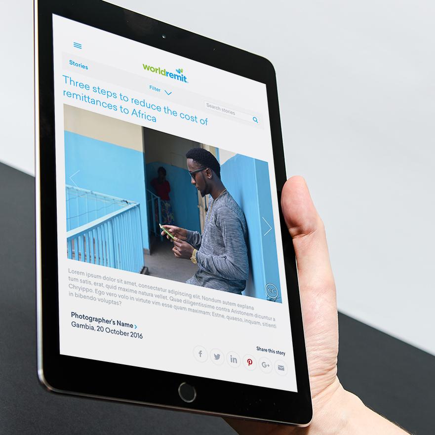STORIES Content portal