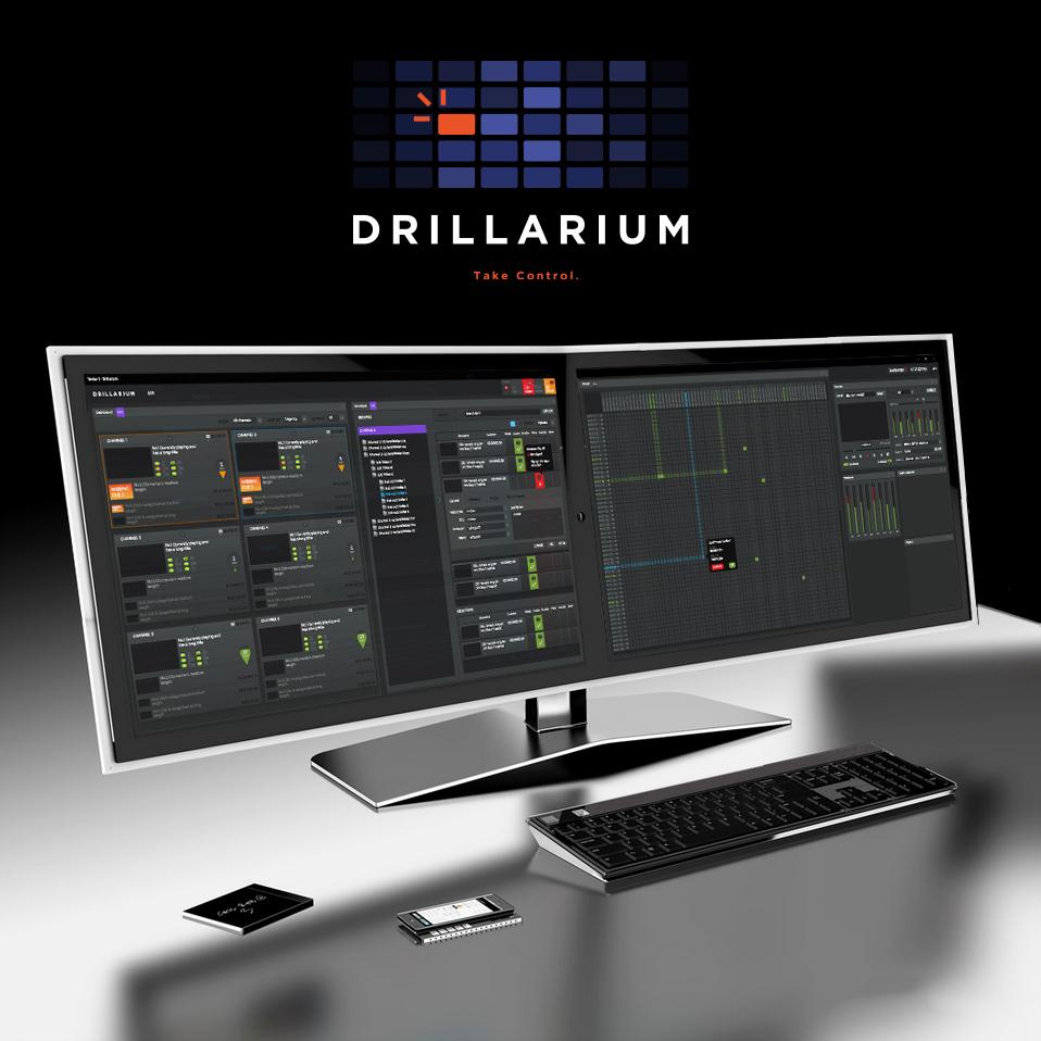 Drillarium UI design